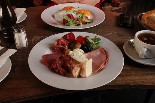 Frühstücke im Goldberg