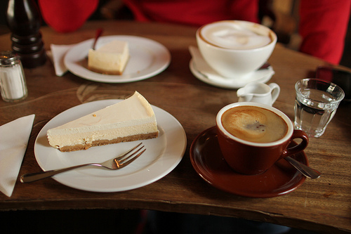 Cheesecake & Heißgetränke im Goldberg