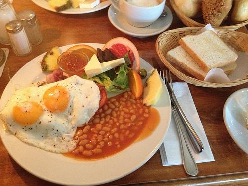 Englisches Frühstück (7,70 €)