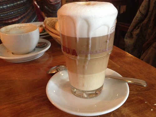Extrastarker Latte Macchiato (3,80 €)