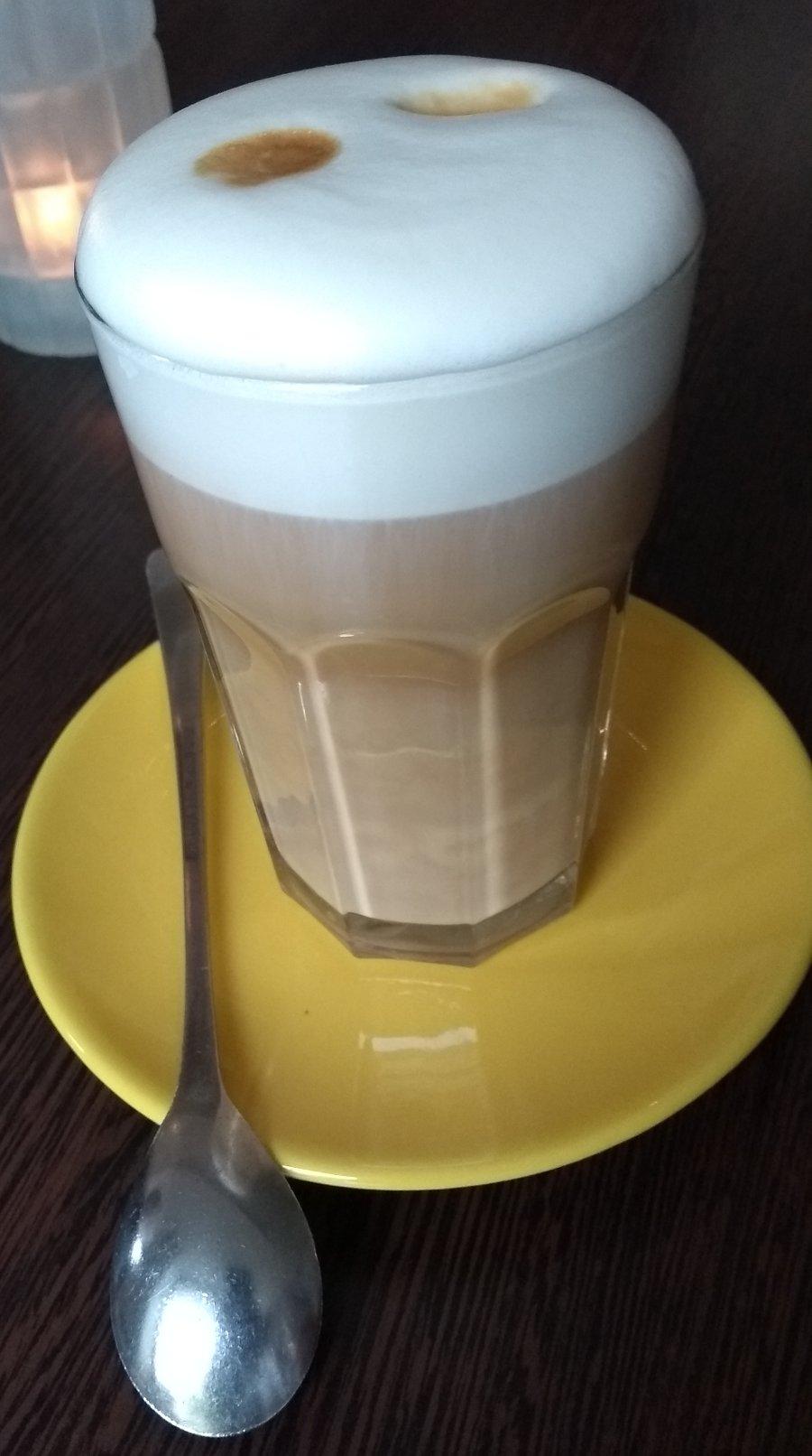 latte, doppelt