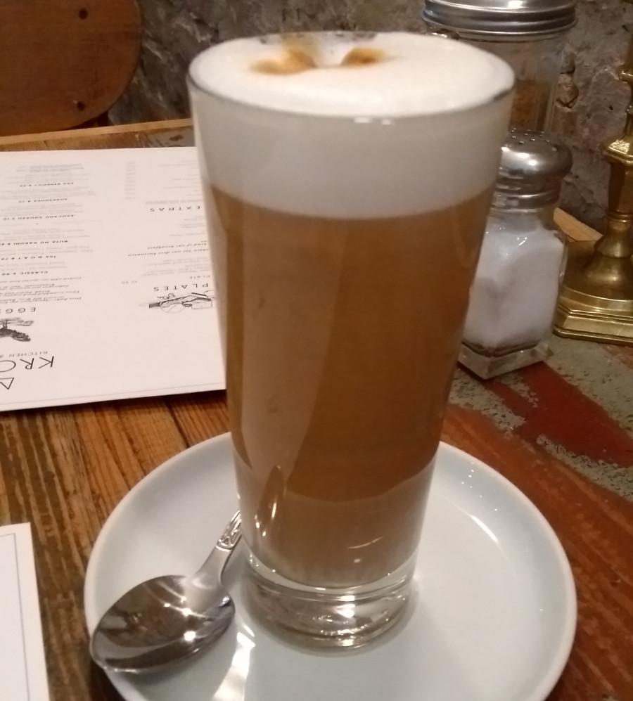 latte mit extra shot