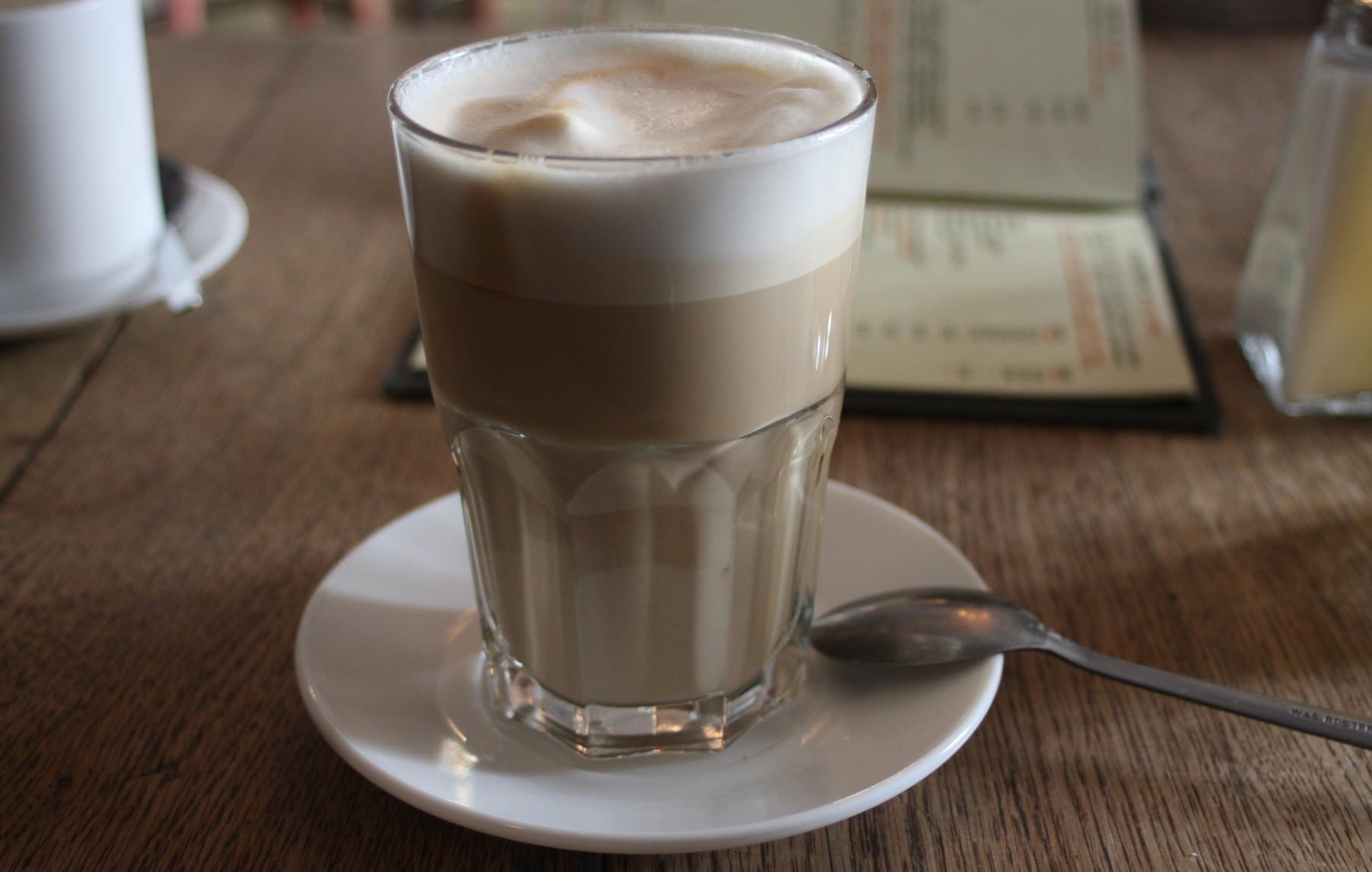 fruehstueckskaffee: latte